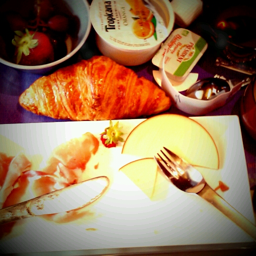 Petit déjeuner du Thalys