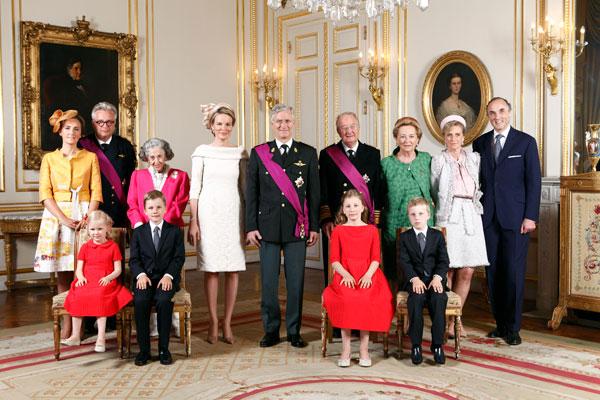 21 juillet 2013 - Famille royale